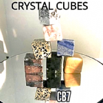 CRYSTAL CUBES  Rock specimen (7 available)